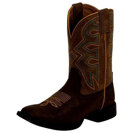 Nocona Kids Brown Square Toe Rodeo Boot