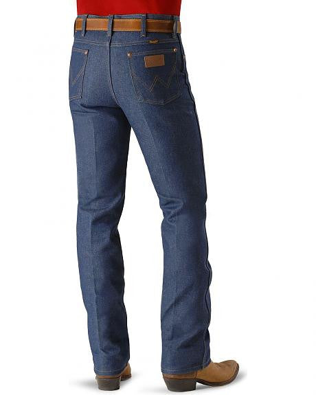 Wrangler Men's Jean 936DEN Slim Fit Rigid