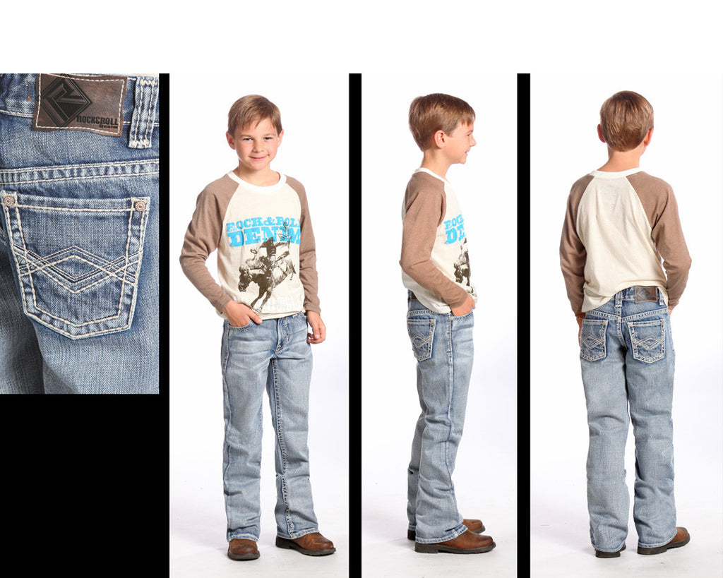 Rock & Roll Cowboy Boy's BB Gun Regular Fit Jean
