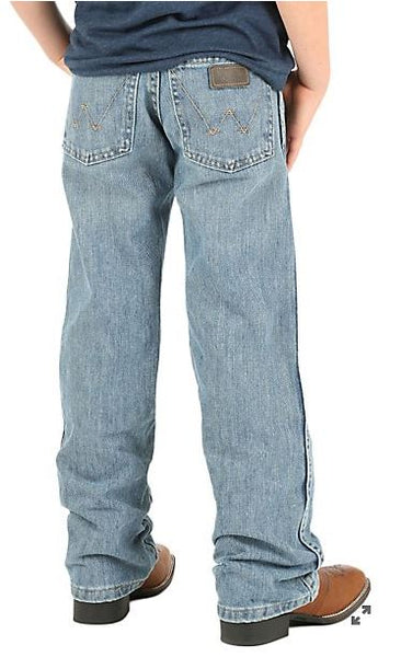 Wrangler Retro Ocean Water Boot Cut Boys Jean
