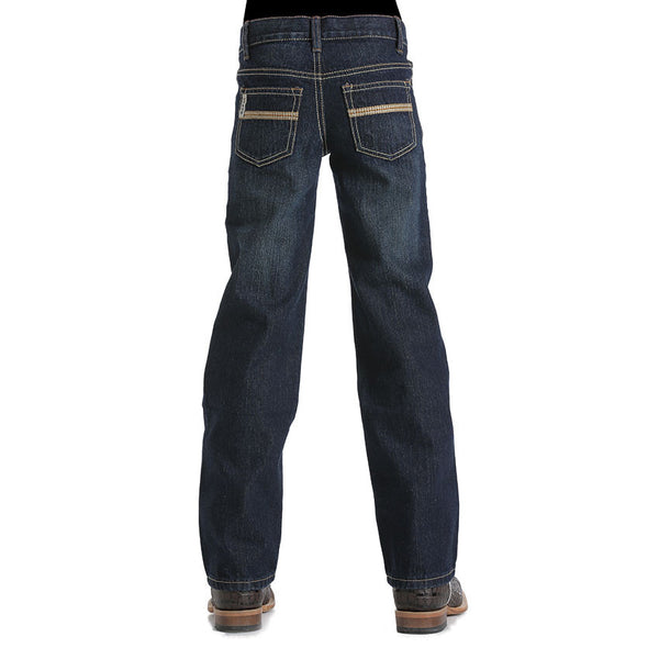 Cinch Boys White Label Dark Tint Reg Fit Jean