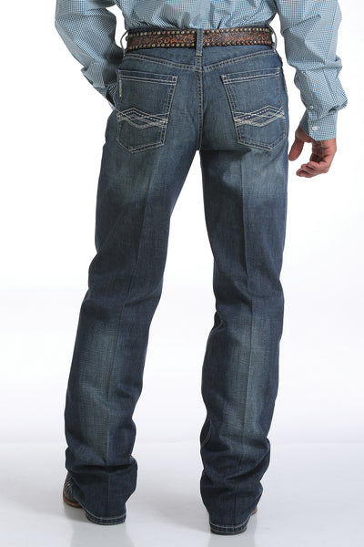 Cinch Mens Grant Mid Rise Boot Cut Jean
