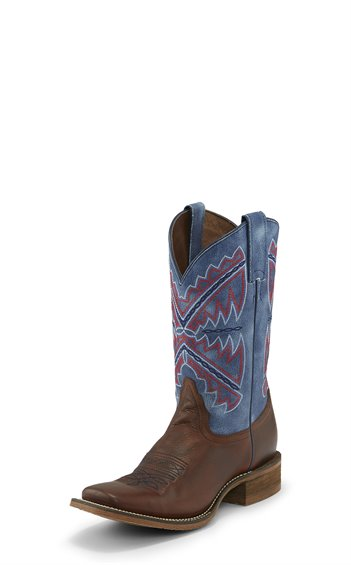 Nocona Women's Chocolate Vaca Cowboy Boot