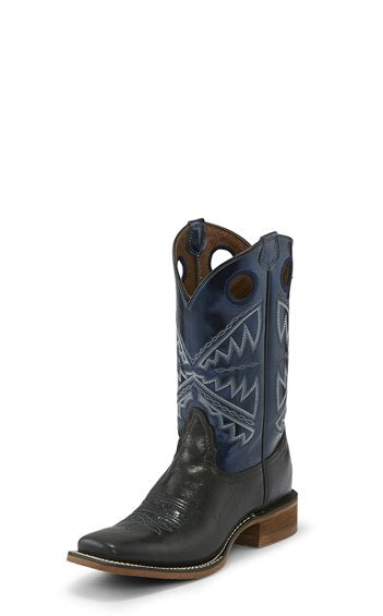 Nocona Womens Black Vaca Cowboy Boot