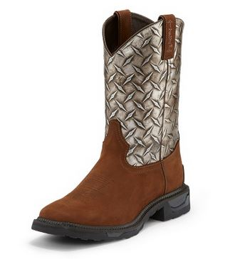 Tony Lama Mens Diamond Plate TLX Work Boot
