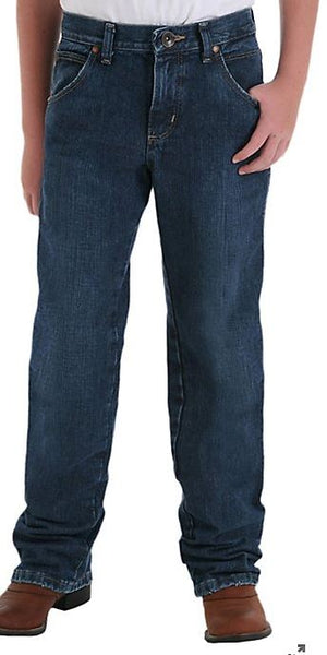 Wrangler Boys Retro Relaxed Fit Straight Leg Jeans