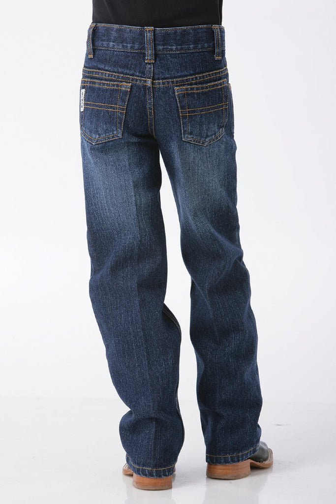 Cinch Boys White Label Dark Regular Fit Jeans