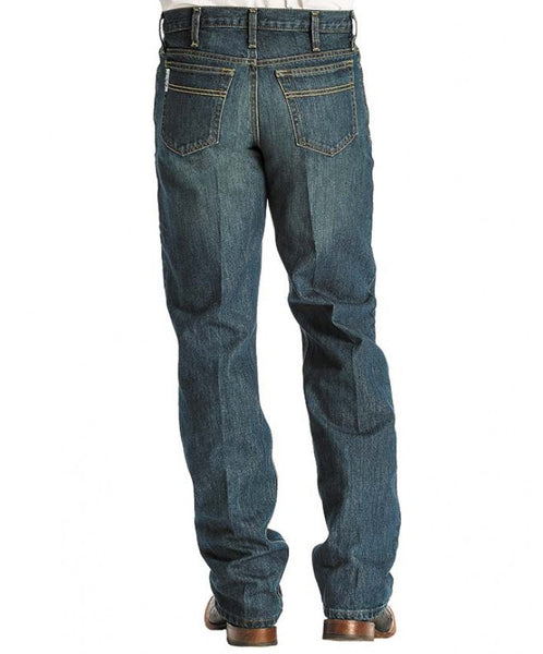 Cinch White Label Dark Stonewash Relaxed Fit Jeans