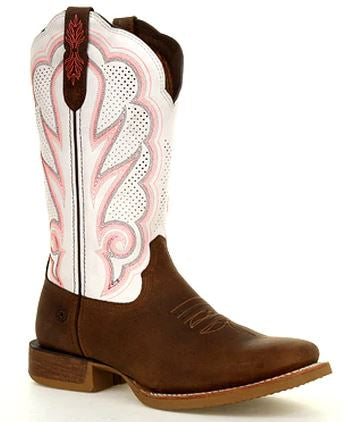 Durango Lady Rebel Pro Womens White Ventilated Western Boot