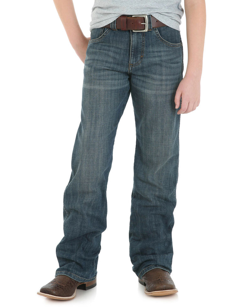 Wrangler Retro Boys' Falls City Relaxed Boot Cut Jeans Sizes 4-7