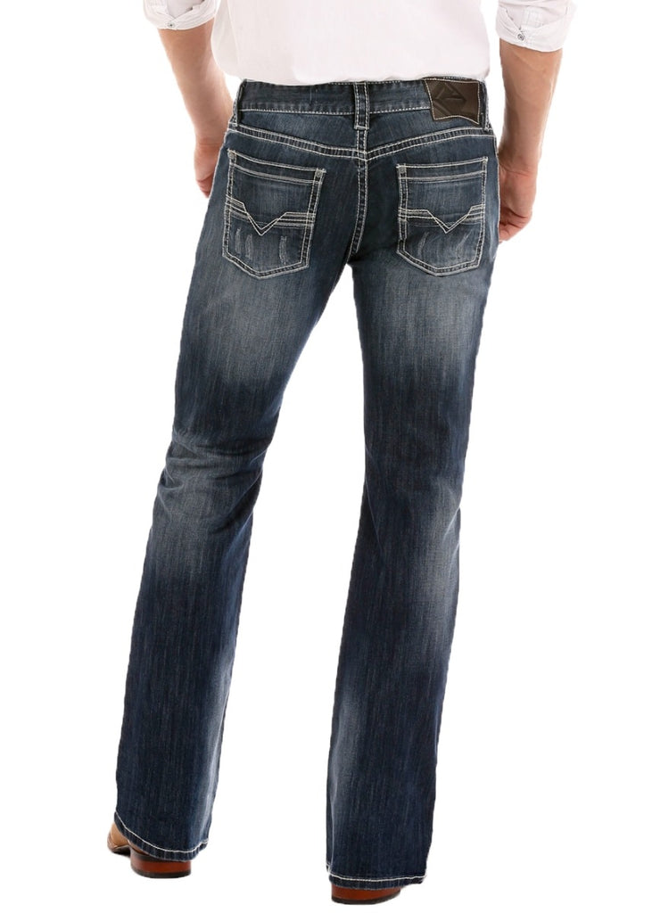 Rock & Roll Denim Pistol Straight Leg Reflex Jeans