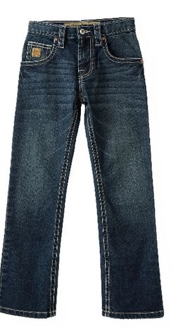 Cinch Youth Boys Slim Fit Dark Stone Jeans