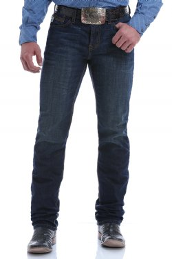 Cinch Mens Slim Fit Straight Leg JESSE Jeans Dark Rinse