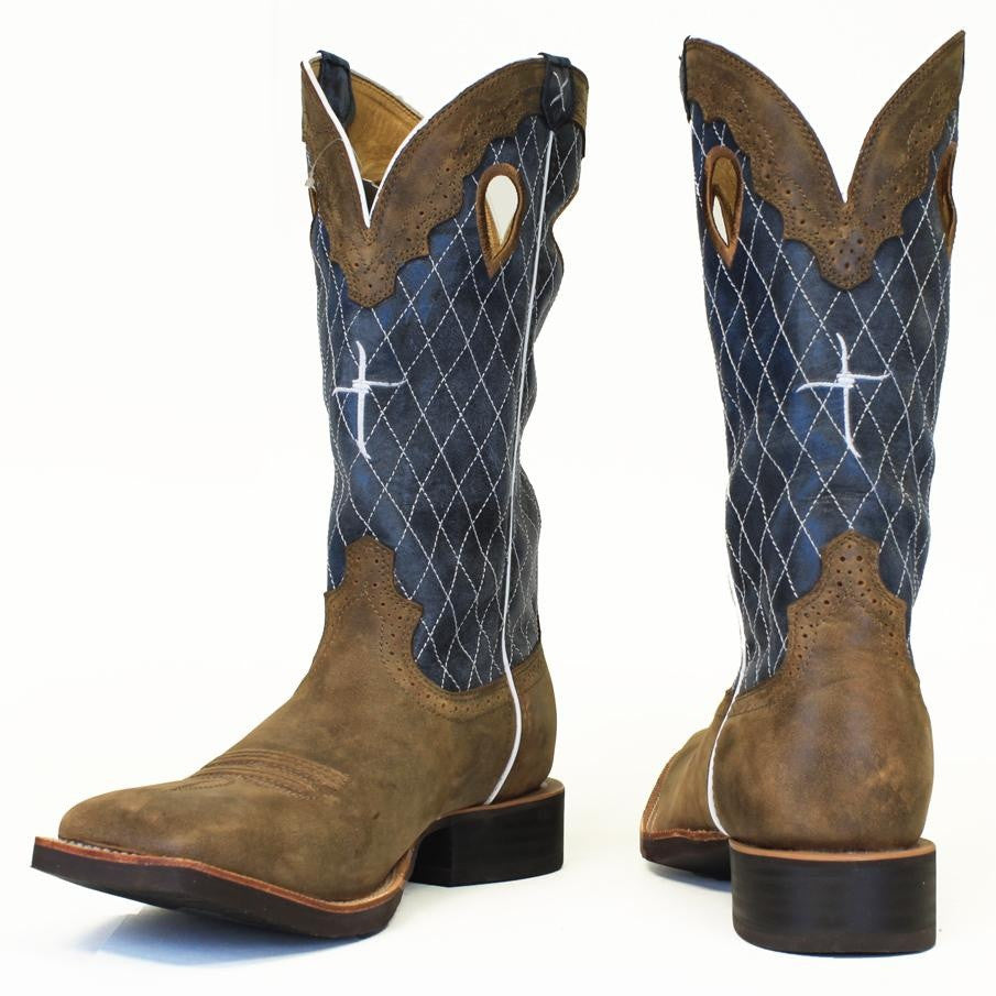 Twisted X Men's Ruff Stock Western Boot MRS0027