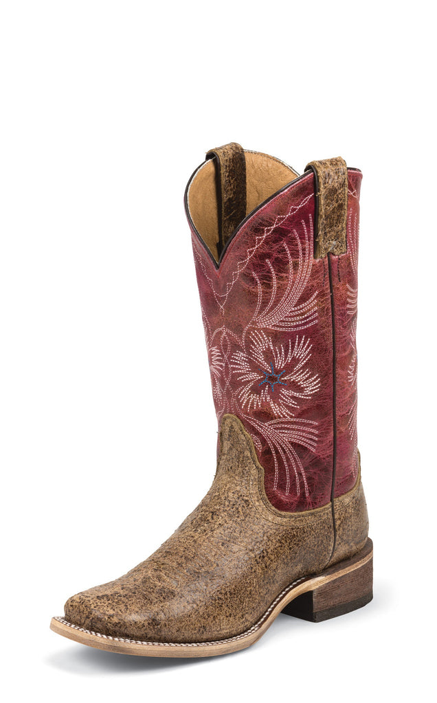 Nocona Womens Tan Dust Ranch Hand Western Cowboy Boots
