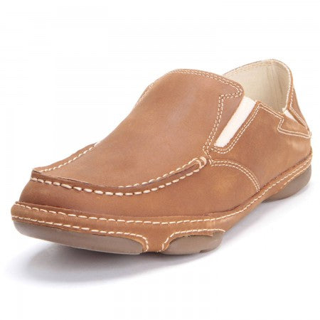 Tony Lama Mens 3R Casual Dark Tan Buffalo Shoe #RR3110