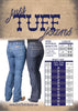 Cowgirl Tuff Womens Just Tuff Riding Jeans