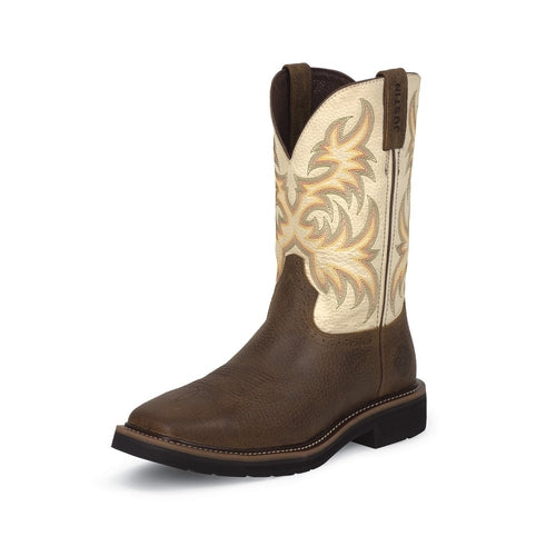 Justin Copperr Kettle Rowdy Boot
