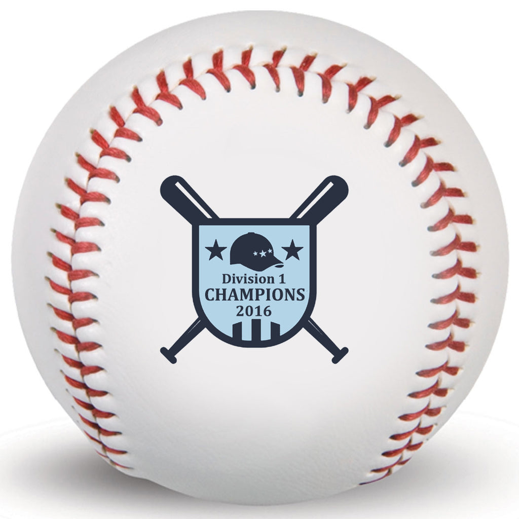 Division 1 Customized Print Baseball