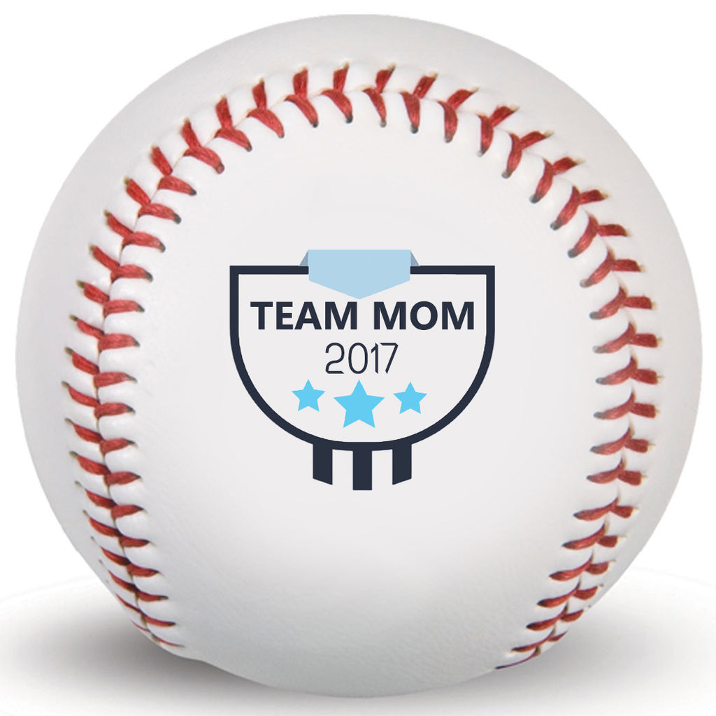 Customized Print Base Ball,Team Mom