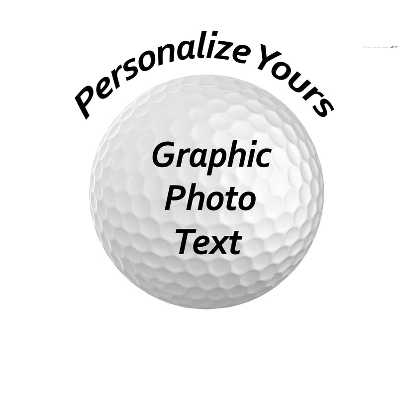 Set of 3 Custom UV Printed Golf Ball  3 different Photos