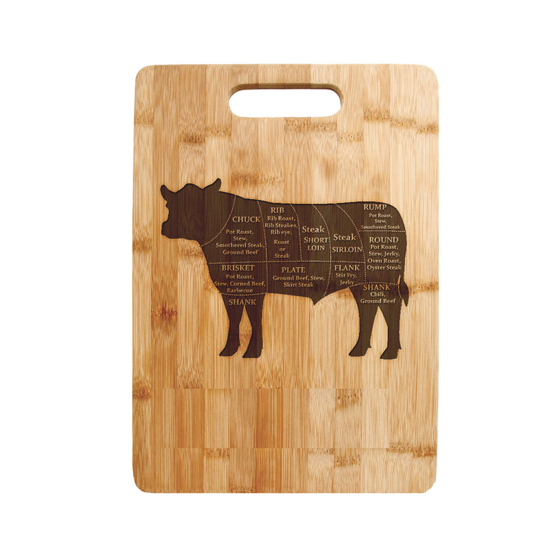 Personalized Laser Engraved Cutting Board, ,Mothers day gift Calf