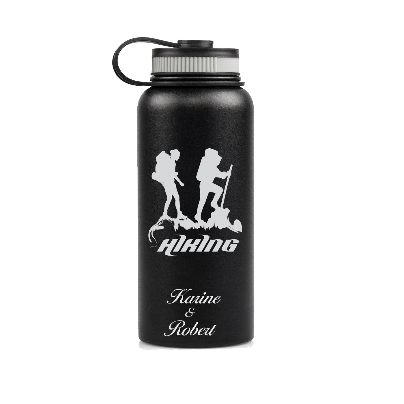 Engraved Customized Insulated Personalised Water Bottle Metal Thermos