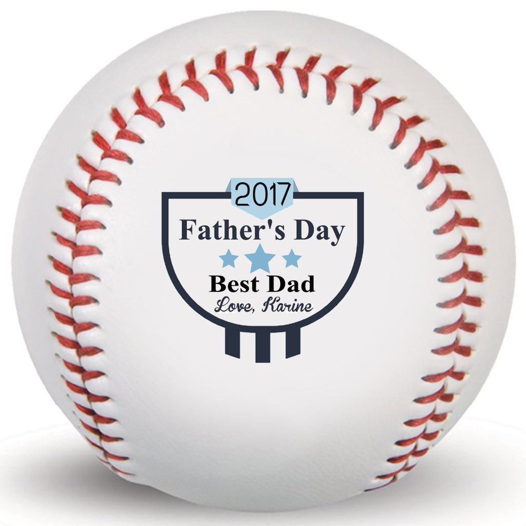 Father's Day Customized Print Baseball