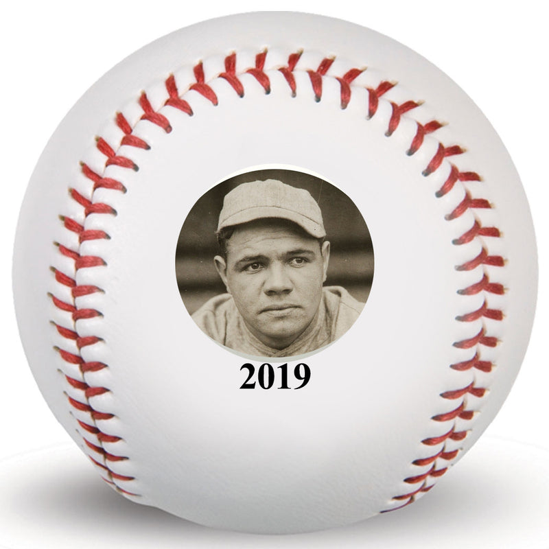 Your Photo and date Customized Print Baseball