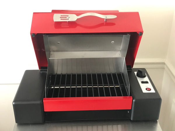 SmokeWave Portable BBQ Grill (Red - Pre-order US Only)