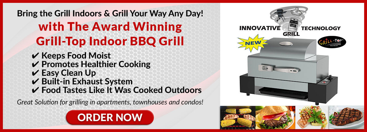 Grill-Top Indoor BBQ Grill