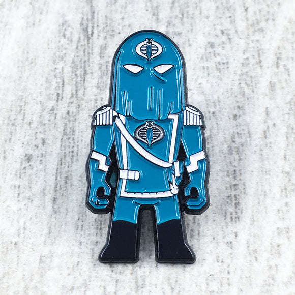 Enamel Pin | G.I. Joe | Cobra Commander
