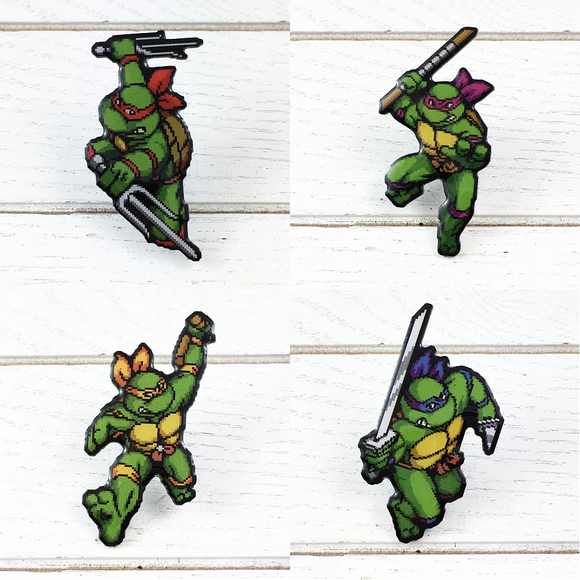 Enamel Pin | Ninja Turtles