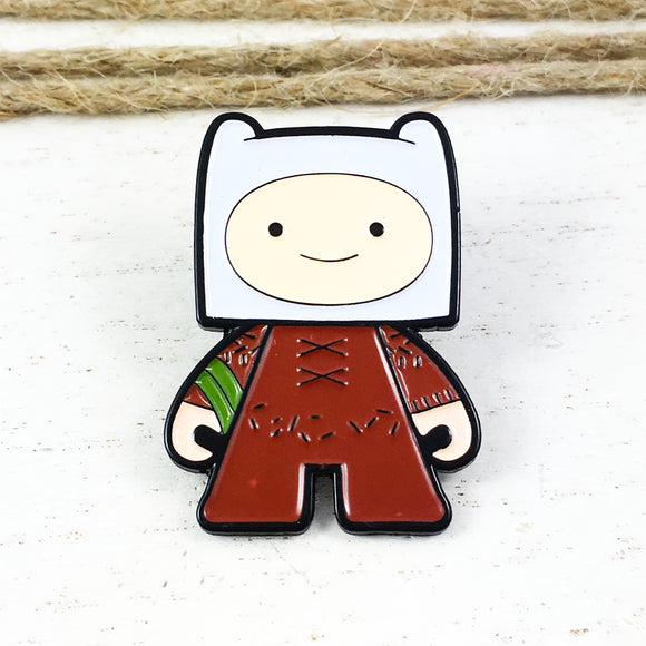 Enamel Pin | Adventure Time | Finn with Grass Sword