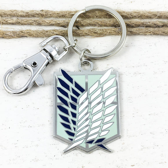 Enamel Keychain | Attack on Titan | Survey Corps
