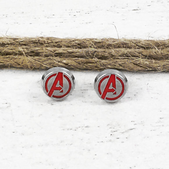 Stud Earrings | Avengers (steel)