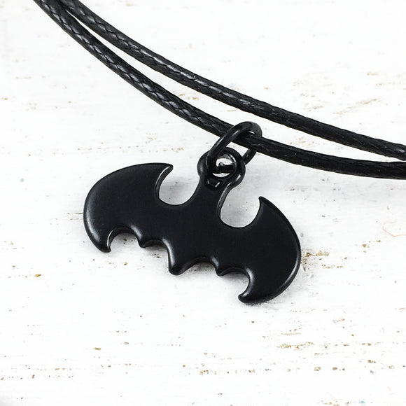 Bracelet or Anklet | Batman | Logo (black)