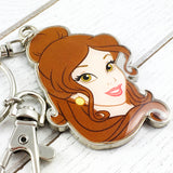 Metal Keychain | Beauty and the Beast | Belle