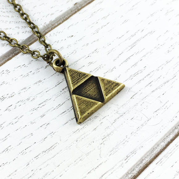 Collier | Triangle bronze