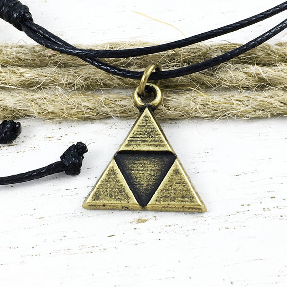Bracelet or Anklet | Bronze Triangle