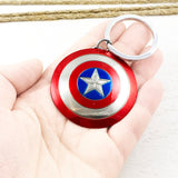 Metal Keychain | Captain America | Shield (3D)