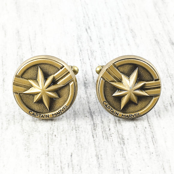 Cuff Links | Captain Marvel