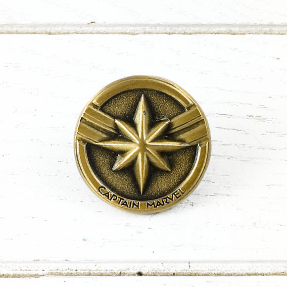 Pewter Pin | Captain Marvel