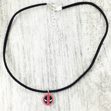 Choker Necklace | Deadpool (mini)