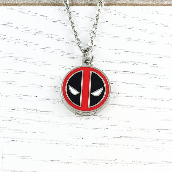 Collier | Deadpool | Logo (petit)