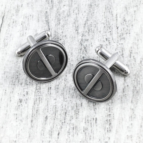 Cuff LInks | Deadpool (pewter)