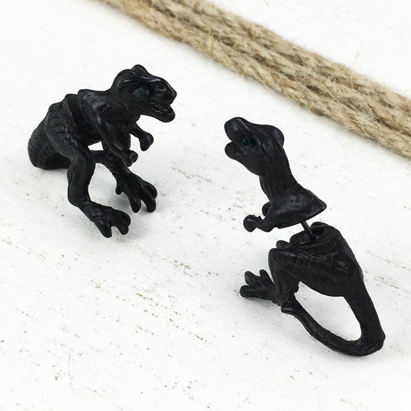 Stud Earrings | Dinosaur | 3D T-Rex