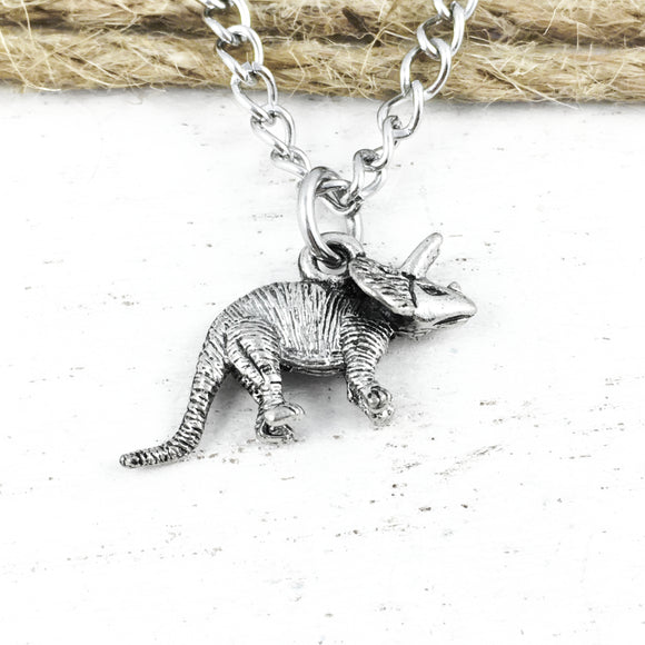 Necklace | Dinosaur | Triceratops