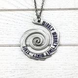Collier | Doctor Who | « Wibbly Wobbly Timey Wimey »