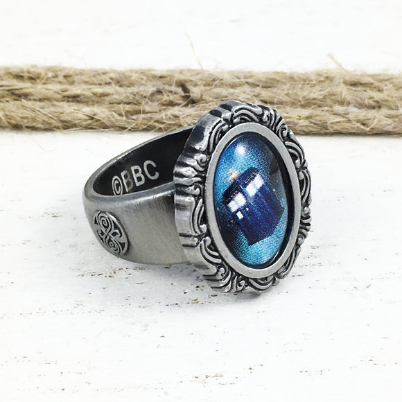 Bague | Doctor Who | Camé TARDIS